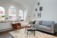 Phòng khách theo phong cách Bắc Âu  thiết kế nội thất chung cư thiet ke noi that chung cu