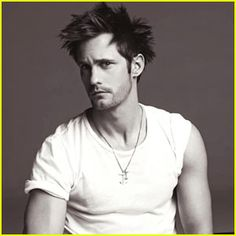 Alexander Skarsgård - who wouldn't want give this man a reason to have bed head?
