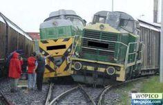 Train Crash Train Crash. Almost funny!