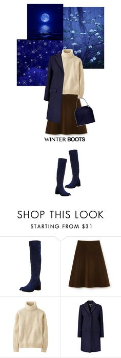 """""""walking in the blue"""" by paperdollsq ❤ liked on Polyvore featuring Vince Camuto, Lacoste, Uniqlo, MSGM and STELLA McCARTNEY"""