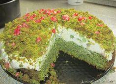 Ciasto Leśny Mech - Przepis - Smaker.pl