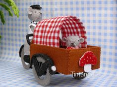 Transport Bike by Tintangel on Etsy