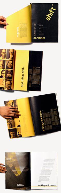 Shift: a design ethics magazine / by Joanna Hobbs