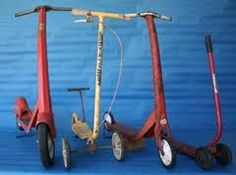 1970's scooter's  I never had one but my sister Tami had a red one,and boy could she fly .