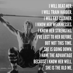 The only person I compete against is me Crossfit Garage Gym, I Work Out, Train Hard, Barbell, Just Do It, Gym Workouts, Fitness Motivation, Old Things, Health Fitness