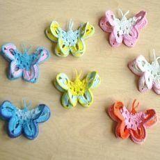 Vyrob si sama - Háčkovaný motýlek - Chytrá žena