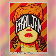 Signed limited edition PJ posters are up for auction in support of the Vitalogy Foundation. Visit the auction page at PearlJam.com/Activism for more info. #PearlJam #Vitalogy