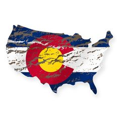 United States Colorado Flag