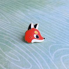 Fox Forest Friend Pin