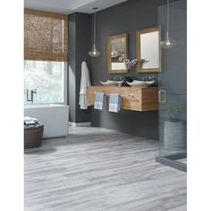 "Adura® Rigid Cape May 6"" x 48"" x 5.5mm SPC Luxury Vinyl Plank"