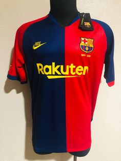 Dorsal Messi Replica Official with Licensed Barcelona 2019-20 Set T-Shirt and Pants 1/ª Teamwear Fc Boy Size 4