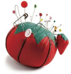 I'm pinning pin cushions: Learn about the tradition of the tomato pincushion.