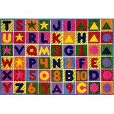Found it at Wayfair - Supreme Numbers and Alphabet Area Rug