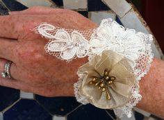 One in a Millinery - bridal cuffs
