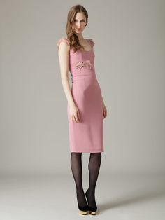 2e9e8b4e95c7e Woven Lace Bow Dress by L Wren Scott at Gilt