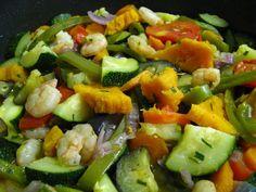 Receita de Salteado de Legumes - http://www.receitasja.com/salteado-de-legumes/