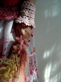 Lace crochet cuffs