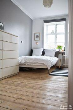 Decorar un dormitorio práctico, funcional y de estilo nórdico (via Bloglovin.com )