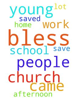 Dear God, bless all the young people who came to church - Dear God, bless all the young people who came to church this afternoon. Bless them. Bless their home and bless their school work. A lot of them are not saved. Please Jesus, save them all we pray. Amen Posted at: https://prayerrequest.com/t/DUT #pray #prayer #request #prayerrequest