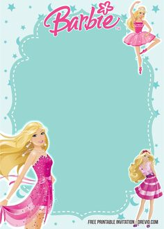 Barbie Birthday Invitation Templates Free Best Of Free Printable Barbie Birthday Invitation Templates Free – Blazenkelly Template Barbie Theme Party, Barbie Birthday Party, Girl Birthday, Barbie Birthday Invitations, Free Printable Invitations Templates, Templates Free, Free Printables, Princess Invitation, Free Barbie