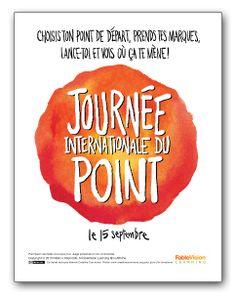 New: FRENCH poster! Journée Internationale du Point