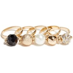 GUESS Fireball Stackable Rings ($25) ❤ liked on Polyvore featuring jewelry, rings, accessories, gold, glitter jewelry, rhinestone jewelry, pave jewelry, stacking rings jewelry and pave ring