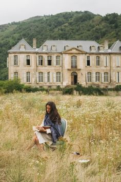 Staying in the historic Château de Gudanes, an 18th-century neoclassical château under restoration built on the site of an older castle destroyed in 1580.