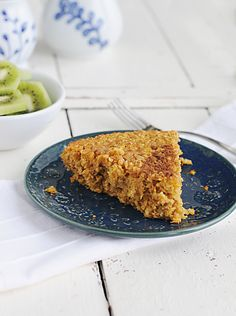 Breakfast Oatmeal Pie (with pumpkin) – this dish can be assembled ahead of time, refrigerated over night, and baked in the oven the next morning