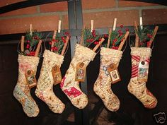 1000 images about christmas stockings on pinterest for Bah humbug door decoration