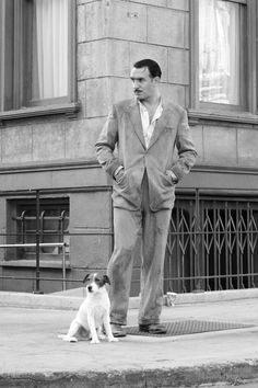 Jean Dujardin as George Valentin, The Artist 2011 (and it's star, Uggie :)