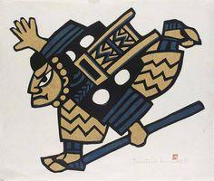 f - MORI YOSHITOSHI (1898-1992); WATANABE SADAO (1913-1996) AND OKAMURA KICHIEMON (B. 1916) Japanese Art Modern, Japanese Paper, Japanese Prints, Wrinkled Paper, Japan Painting, Principles Of Art, Pacific Rim, Asian Art, Printmaking