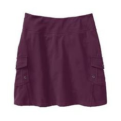 Oasis Skort - Pilayo® performance combines with sweet seam lines and cargo pockets to pack everything you need into your next adventure.