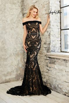 Angela and Alison Long Wedding/Prom 771019  Angela and Alison Blossoms Bridal & Formal dress store