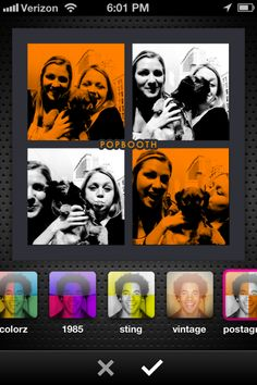 There's a new PopBooth update out. Have you seen it? Create cute Photostrips in seconds and share them on your Twitter, Facebook or send them as a REAL printed photostrip in the mail :) Say Cheese!