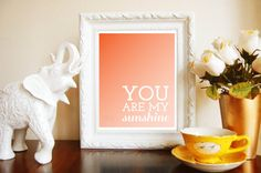 Ombre+Sign+Print+for+Home+Nursery+Decor++by+frommewithlovedesign,+$7.50