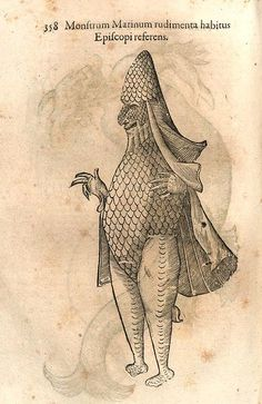 Ulisse Aldrovandi, Monstrorum historia by renzodionigi, via Flickr