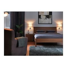 ALÄNG Wall lamp - IKEA  Love this idea for either side of the bed #IKEADreamBedroom