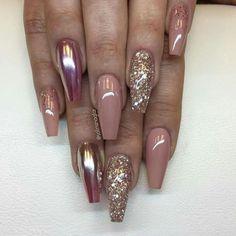 #unhas #pintadas #brilho