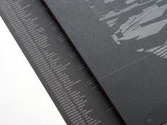NADIR BONACCORSO BOOK by Flatland Design, via Behance