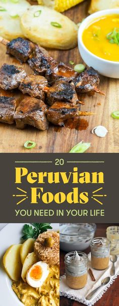 20 Peruvian Foods You Need In Your LifeYou can find Peruvian recipes and more on our Peruvian Foods You Need In Your Life Peruvian Dishes, Peruvian Cuisine, Peruvian Recipes, Mexican Food Recipes, Beef Recipes, Cooking Recipes, Ethnic Recipes, Water Recipes, Gourmet