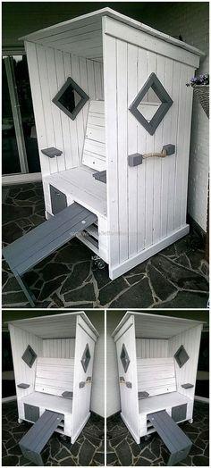 wood pallet strandkorb chair