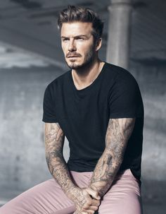 That exists in the world. | David Beckham's New H&M Ads Should Be Illegal They're So Beautiful
