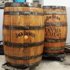 Whiskey barrel customizing finished stained bourbon barrels oak aged rustic peronalized home bar pub display Whiskey Barrel Sink, Bourbon Barrel, Whiskey Barrels, Tonneau Bar, Kentucky, Rustic Bathroom Vanities, Vintage Bathrooms, Bathroom Sinks, Jameson Irish Whiskey