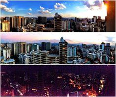 Caracas de mañana, tarde y noche