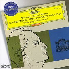 Mozart: Piano Concertos no 8, 23 & 24 / Wilhelm Kempff:   Here are three classic Mozart Concertos in magical accounts by the great German pianist Wilhelm Kempff.