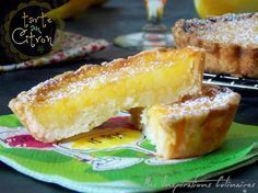 Easy lemon tart {by Paul Bocuse} Oreo Dessert, Dessert Recipes, Chefs, French Patisserie, Oreo Brownies, Fall Desserts, Sweet Recipes, Food And Drink, Cooking Recipes