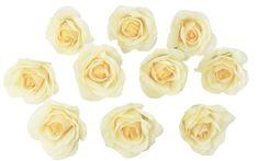 Yellow Rose Heads | Artificial Flowers | Wedding Centerpieces | Silk Roses | Faux Flowers | Wedding Decorations | Flowers in Bulk (10 heads) - TheBridesBouquet.com  #bouquets #weddingbouquets #weddinggift #weddinginspiration #silkweddingbouquets