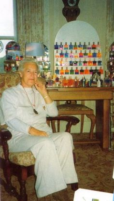 Vicky Wall (the founder and innovator of the Aura-Soma Color Care System)