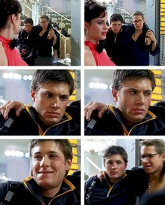 [gifset] This is great! The expressions this man can make with his face are unlimited. Alec in Dark Angel.