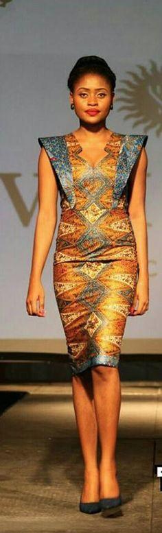 Tiffahny Dians, designer from Congo African Inspired Fashion, African Print Fashion, Africa Fashion, African Fashion Dresses, African Attire, African Wear, African Women, African Dress, Style Africain